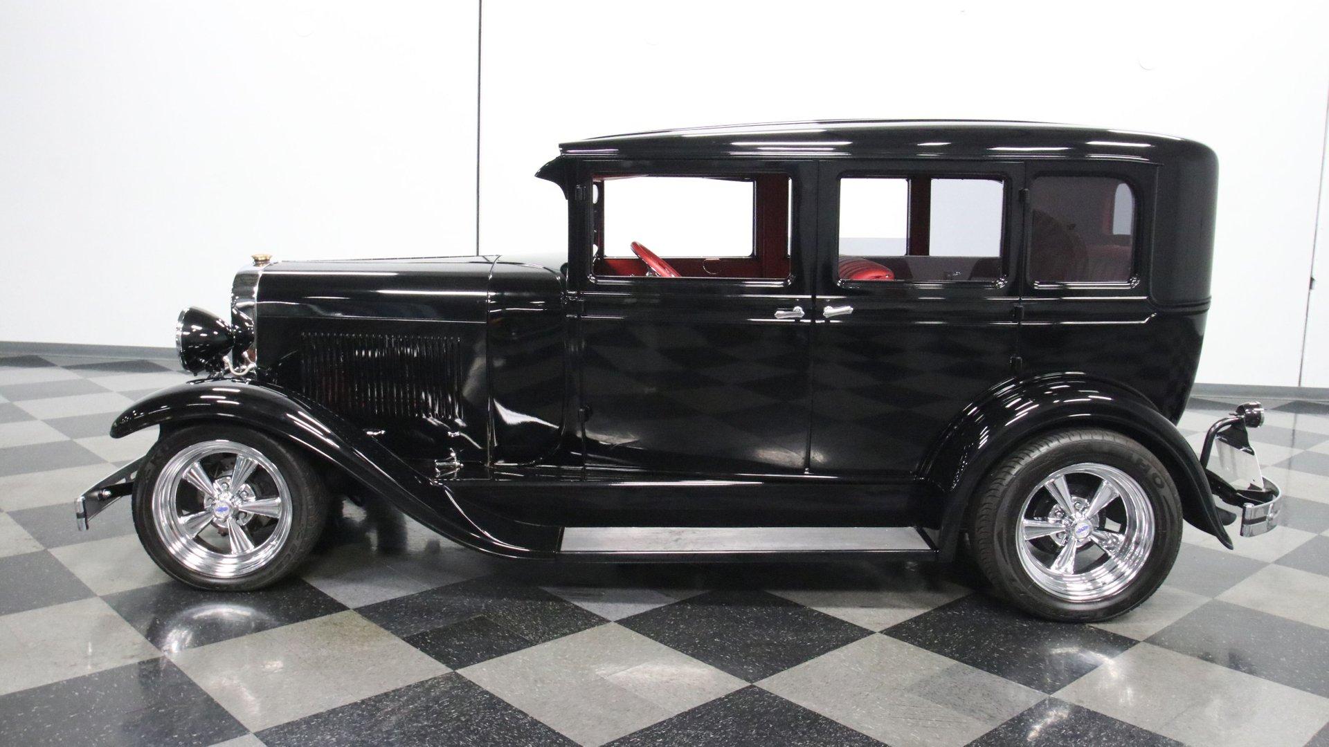 1929 oldsmobile 4 door sedan restomod