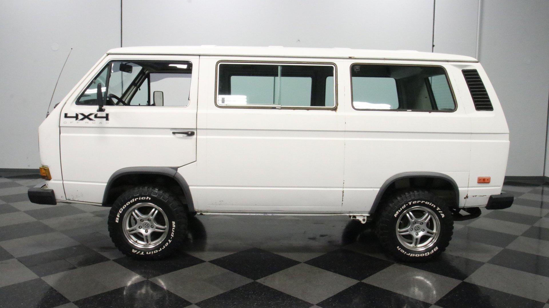 1986 volkswagen vanagon syncro 4x4