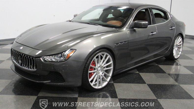 For Sale: 2014 Maserati Ghibli