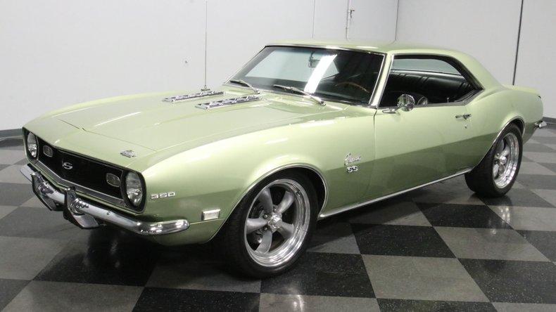 1968 Chevrolet Camaro 21