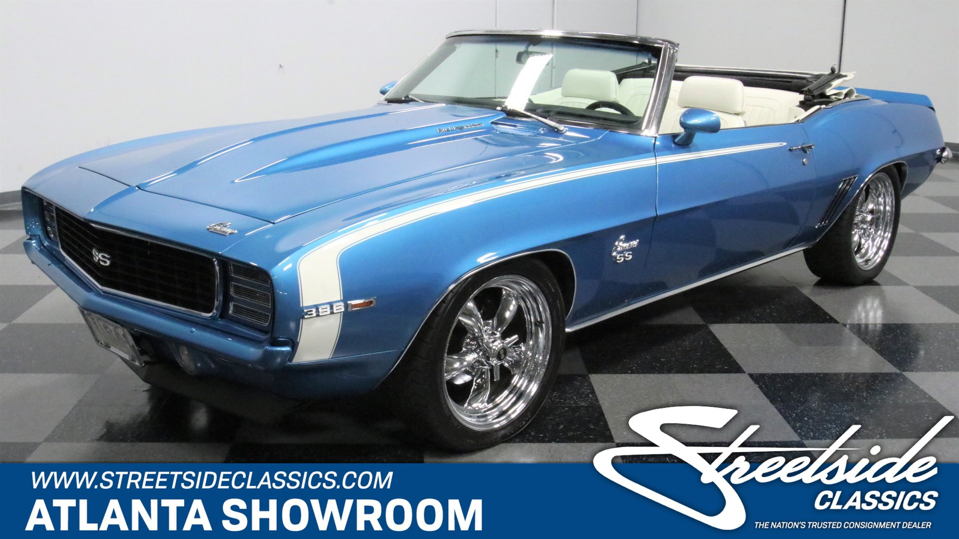 1969 chevrolet camaro rs ss convertible tribute