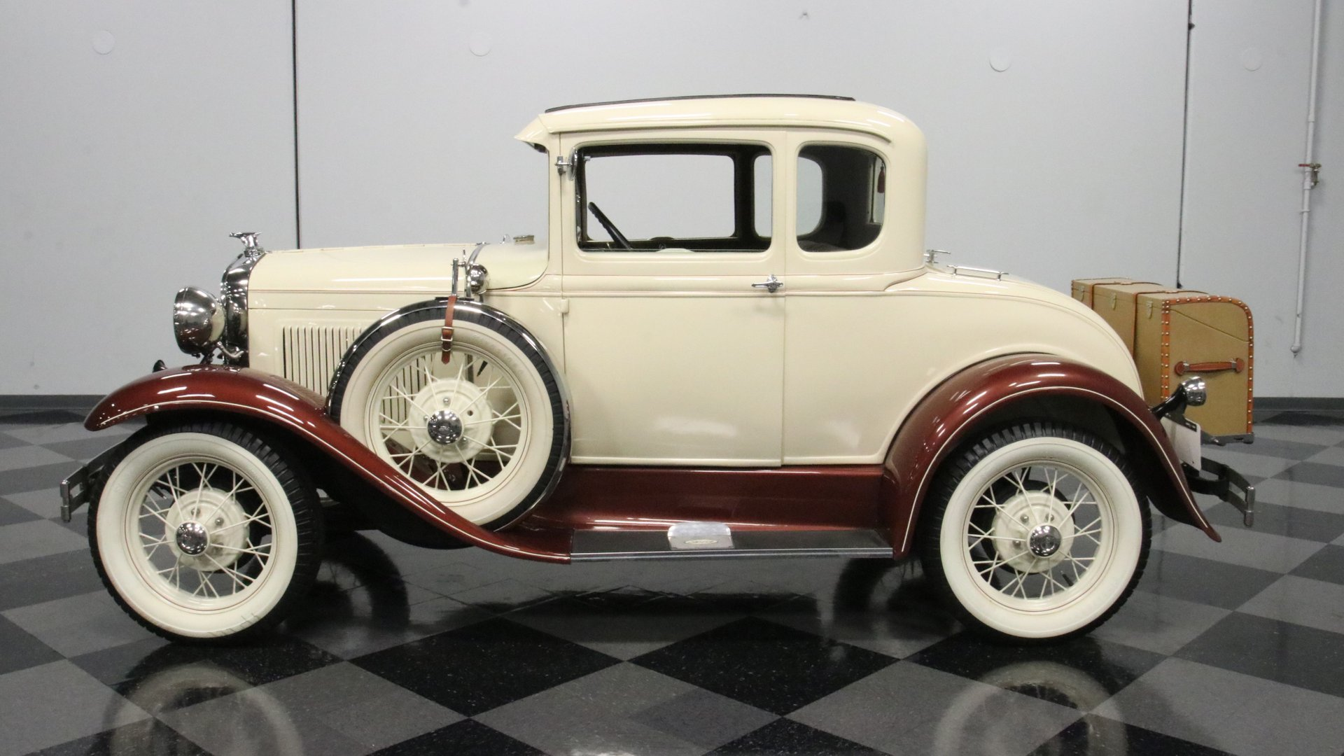 1930 ford model a rumble seat coupe