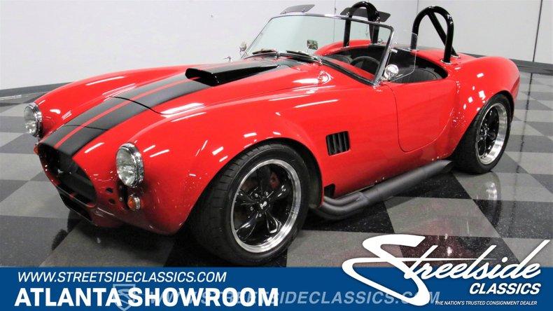For Sale: 1965 Factory Five Cobra