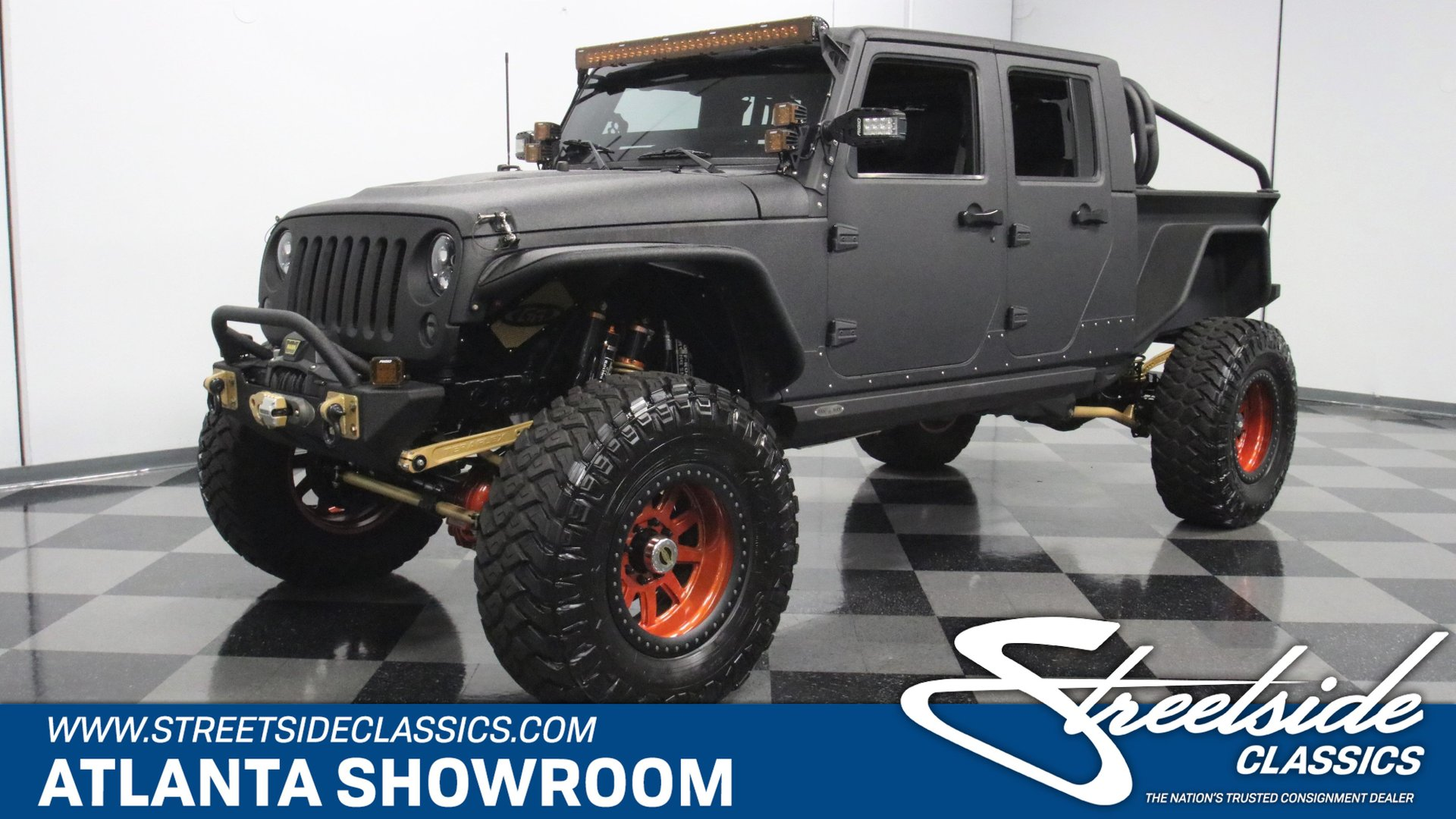 2014 jeep jk bruiser conversion ls3