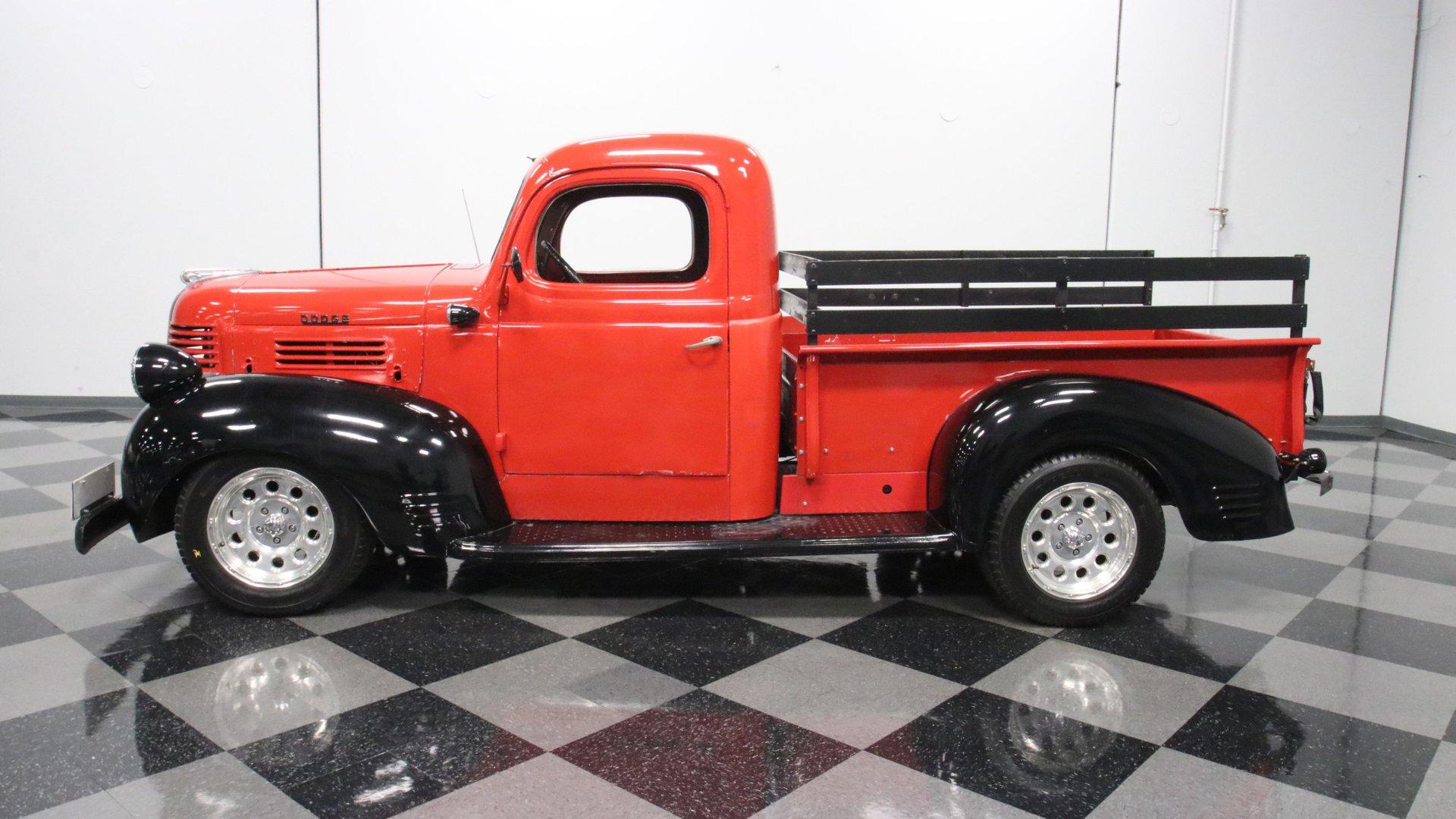 1947 dodge pickup restomod