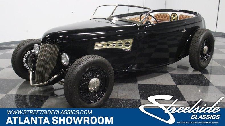 For Sale: 1936 Ford Speedster