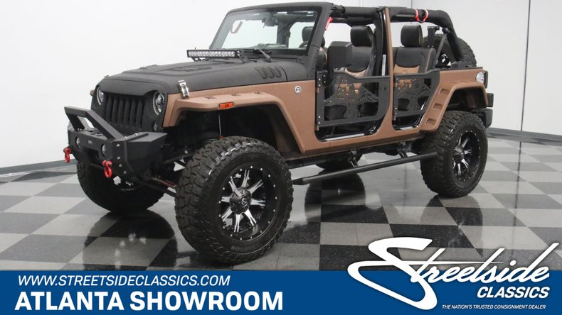 For Sale: 2016 Jeep Wrangler