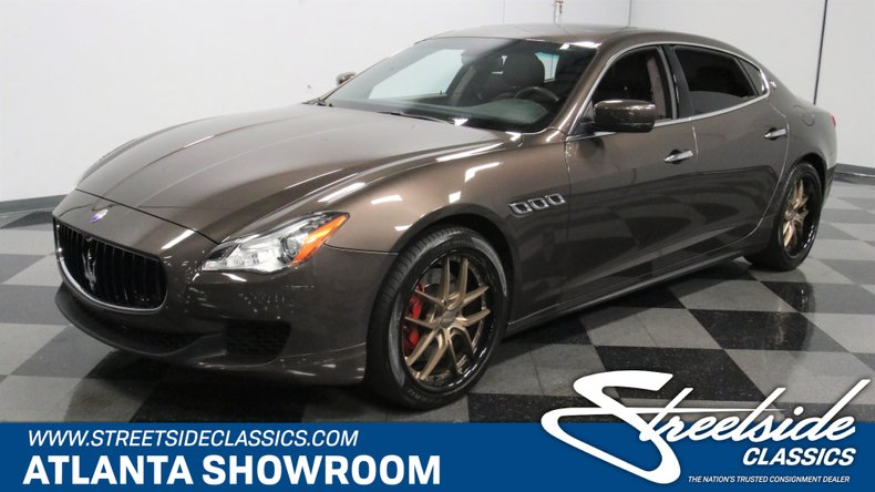For Sale: 2016 Maserati Quattroporte