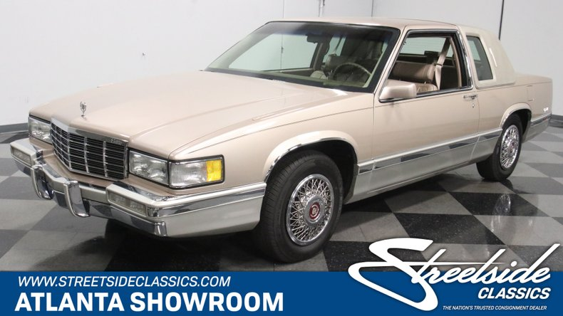 For Sale: 1991 Cadillac Coupe DeVille
