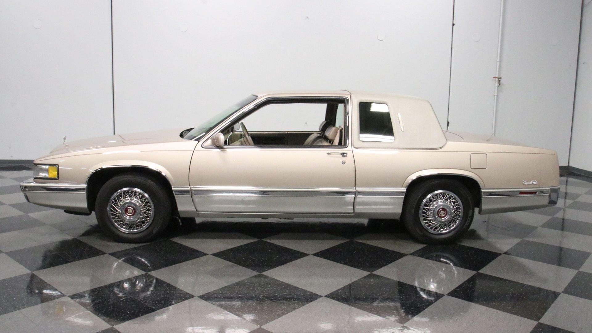 1991 cadillac coupe deville cabriolet
