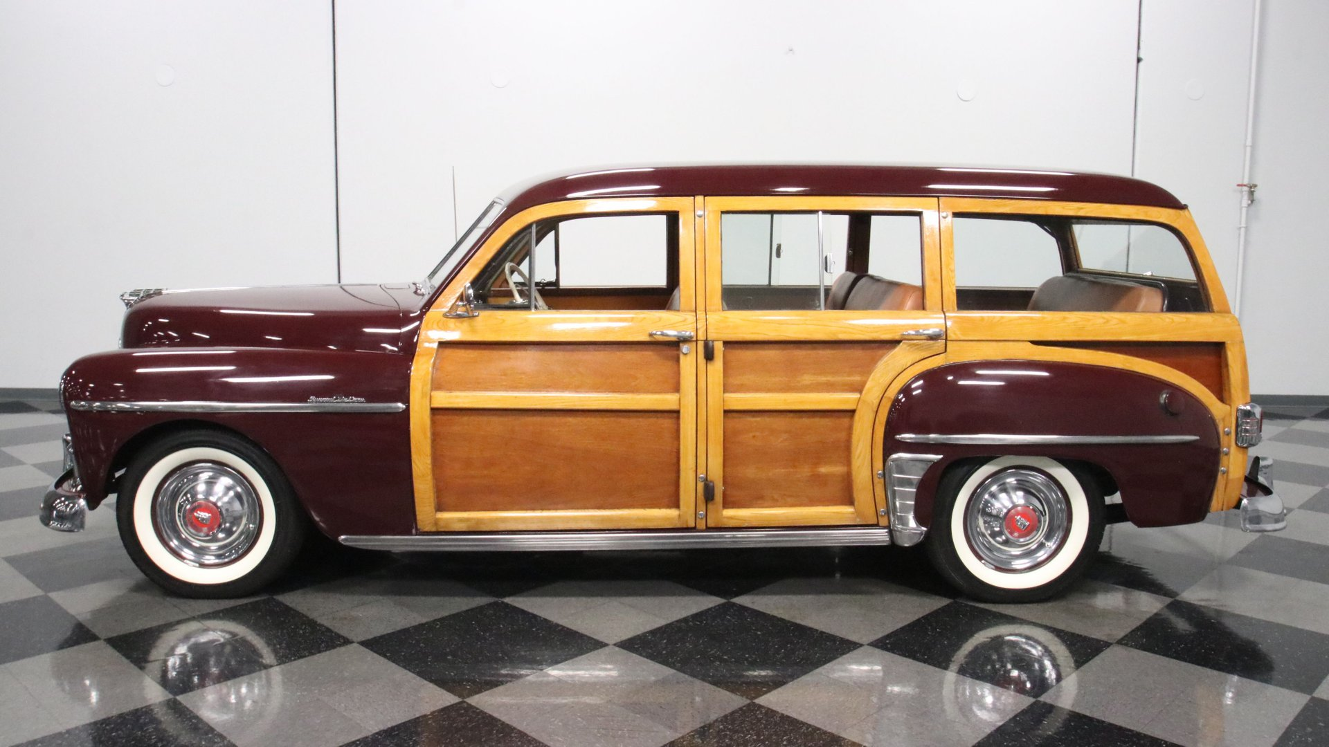 1950 plymouth p20 special deluxe woody station wagon
