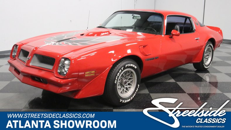 For Sale: 1976 Pontiac Firebird