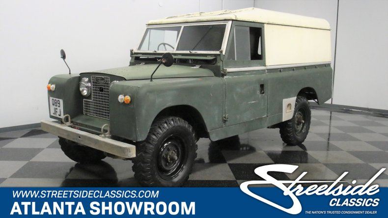 For Sale: 1961 Land Rover Series II 109