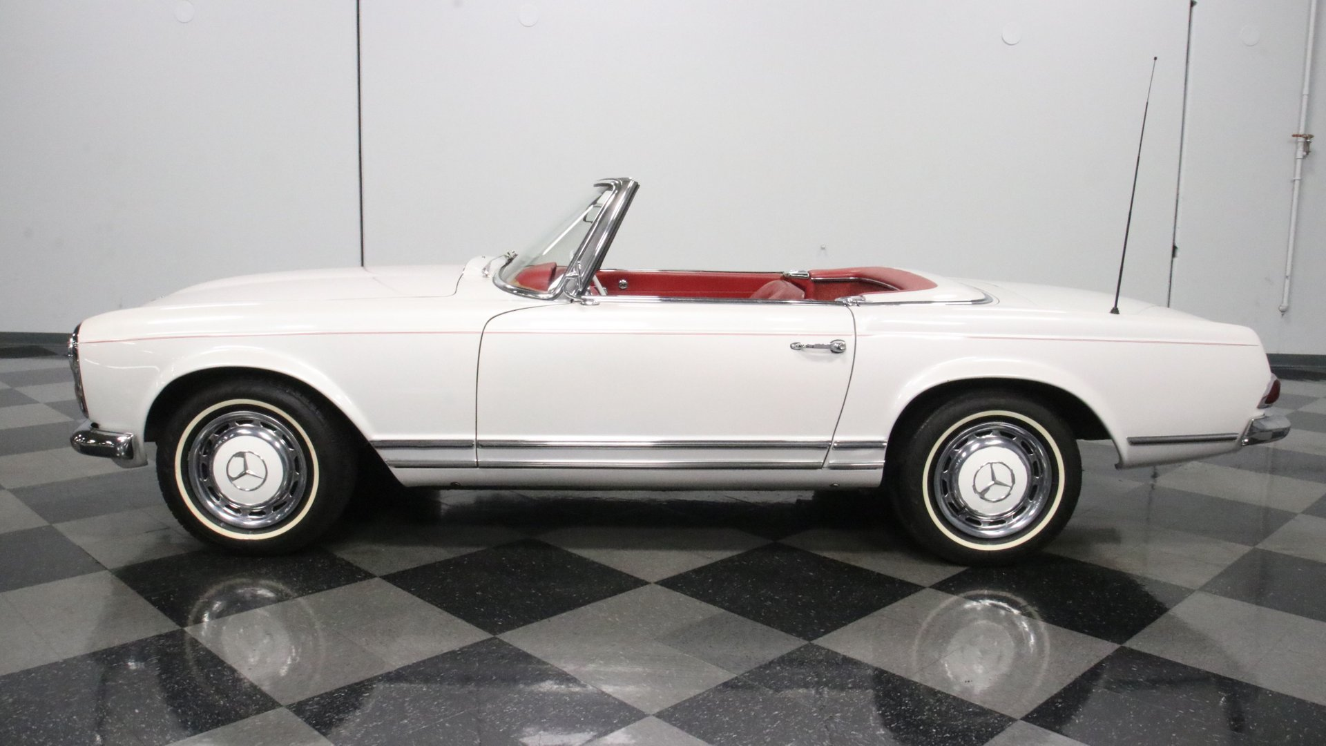 1965 mercedes benz 230sl convertible