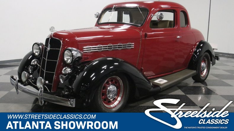 For Sale: 1935 Plymouth 5-Window Coupe