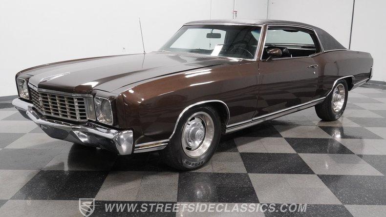 For Sale: 1972 Chevrolet Monte Carlo