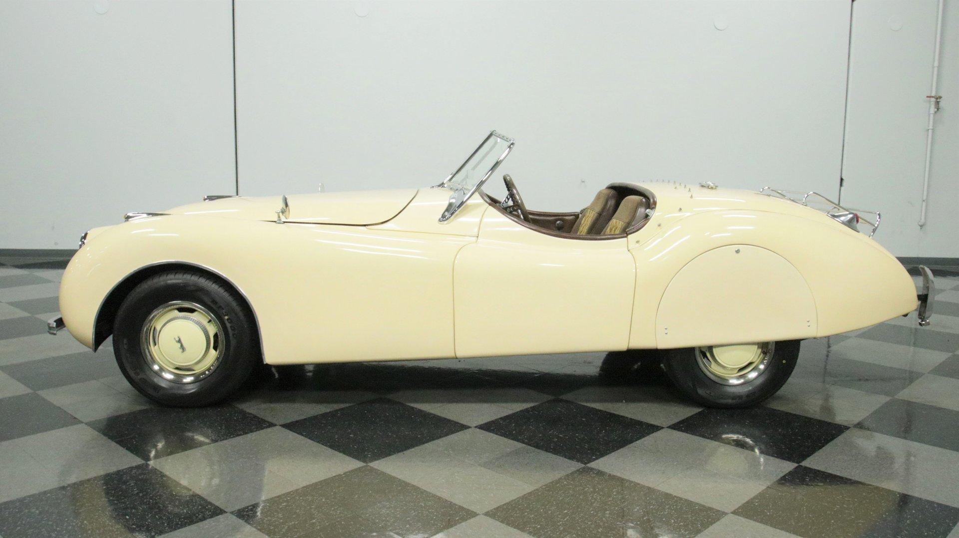 1952 jaguar xk120 roadster replica