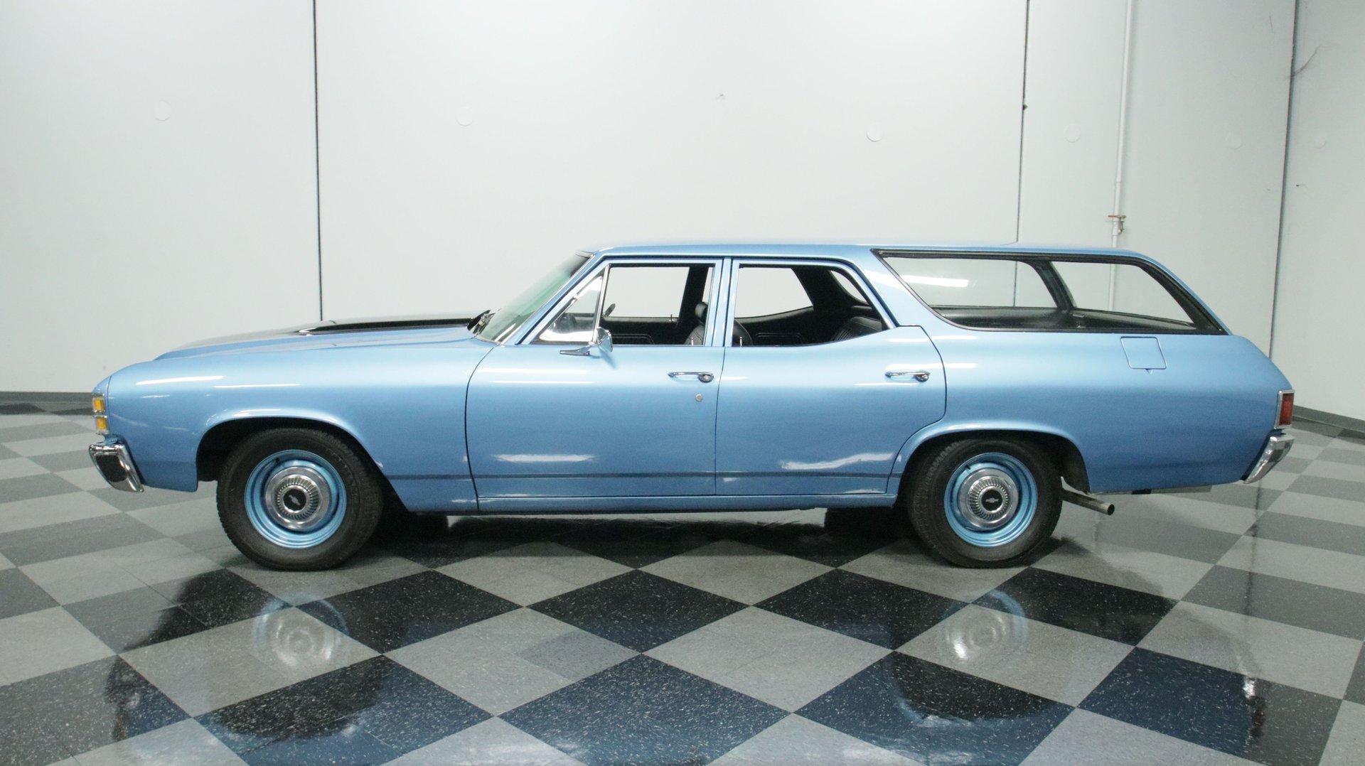 1971 chevrolet chevelle wagon