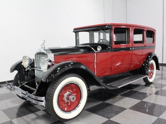 1929 packard 633 limousine
