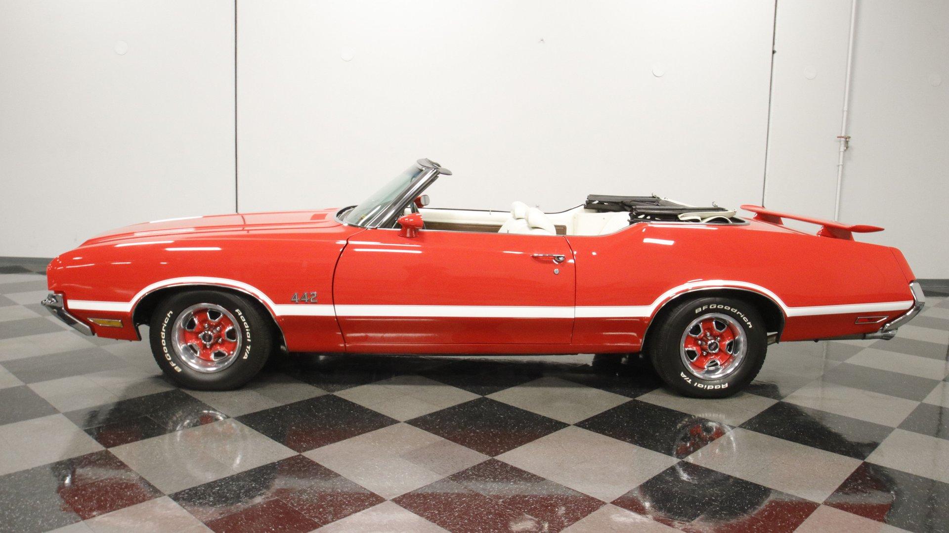 1971 oldsmobile cutlass 442 tribute convertible