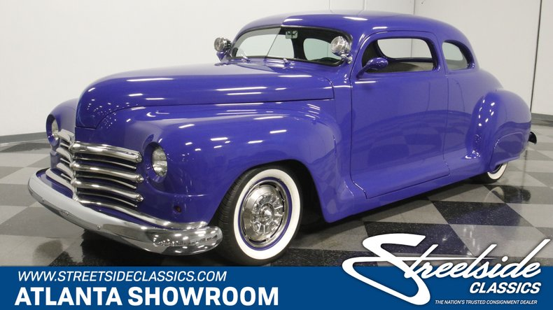 For Sale: 1947 Plymouth Street Rod