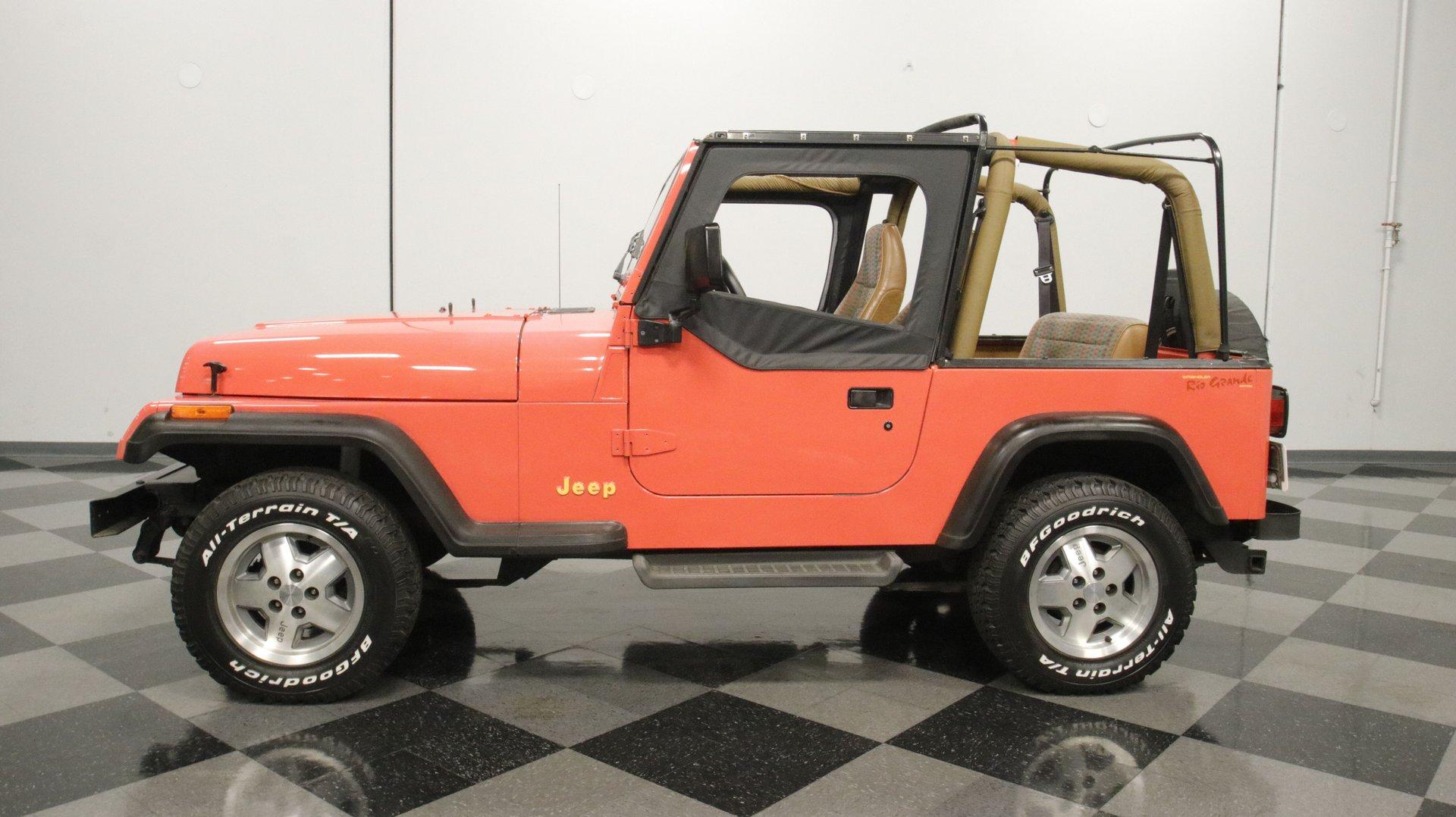 1995 jeep wrangler rio grande edition