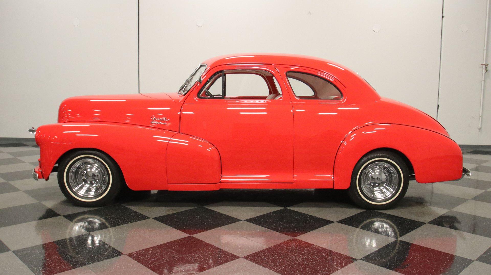 1948 chevrolet coupe street rod