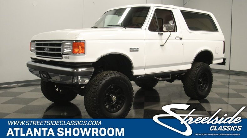 For Sale: 1989 Ford Bronco