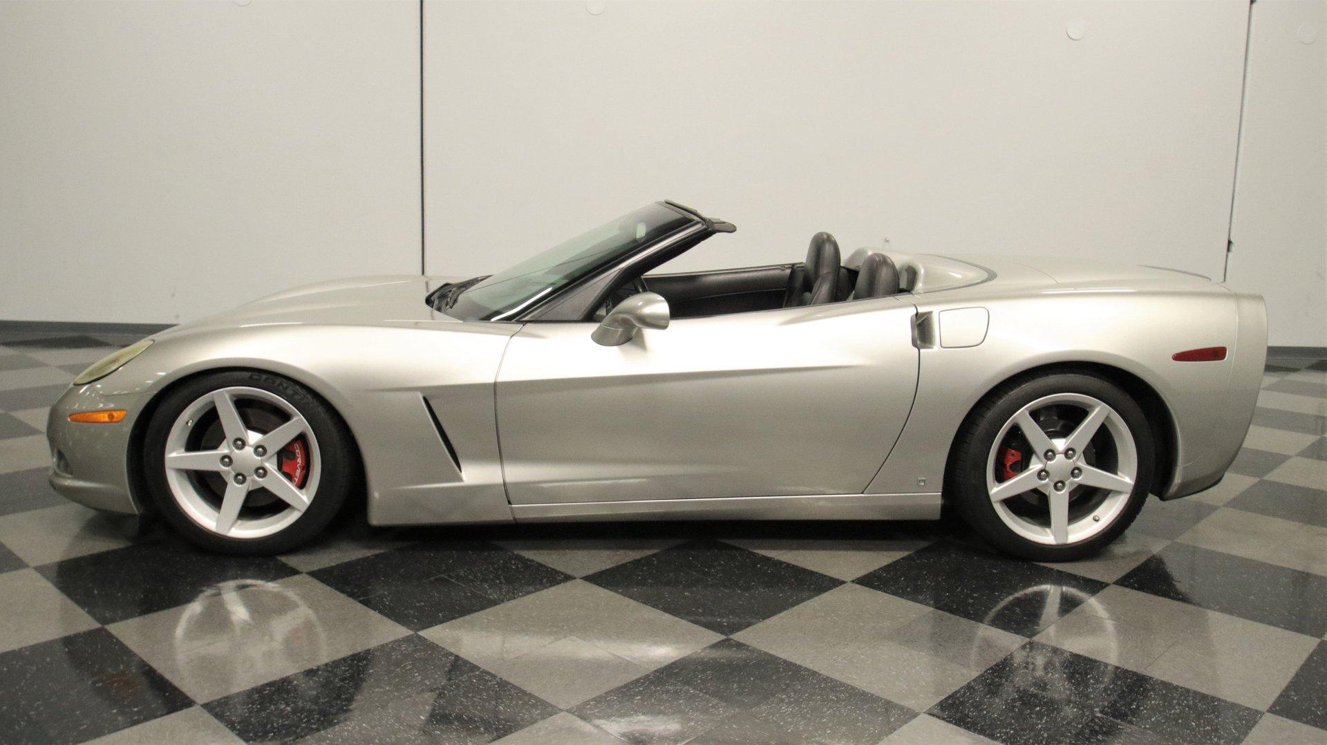 2006 chevrolet corvette 3lt convertible