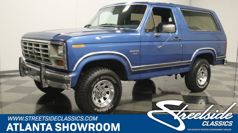 For Sale: 1986 Ford Bronco
