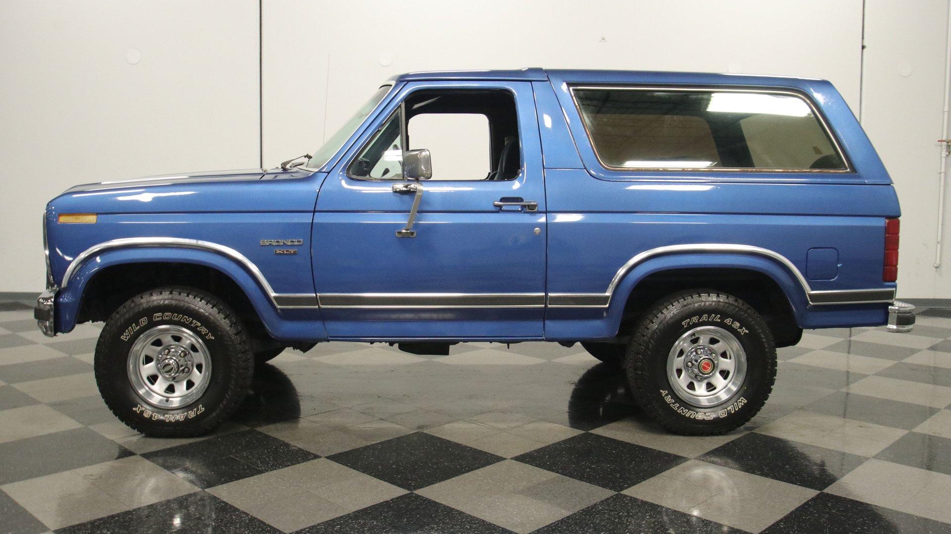 1986 ford bronco xlt 4x4
