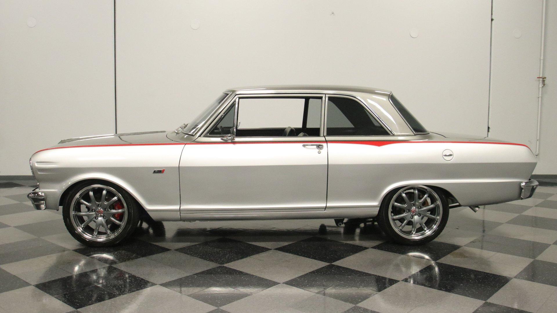 1963 chevrolet nova chevy ii restomod