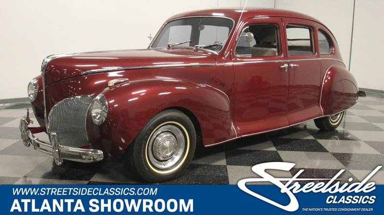 For Sale: 1941 Lincoln Zephyr