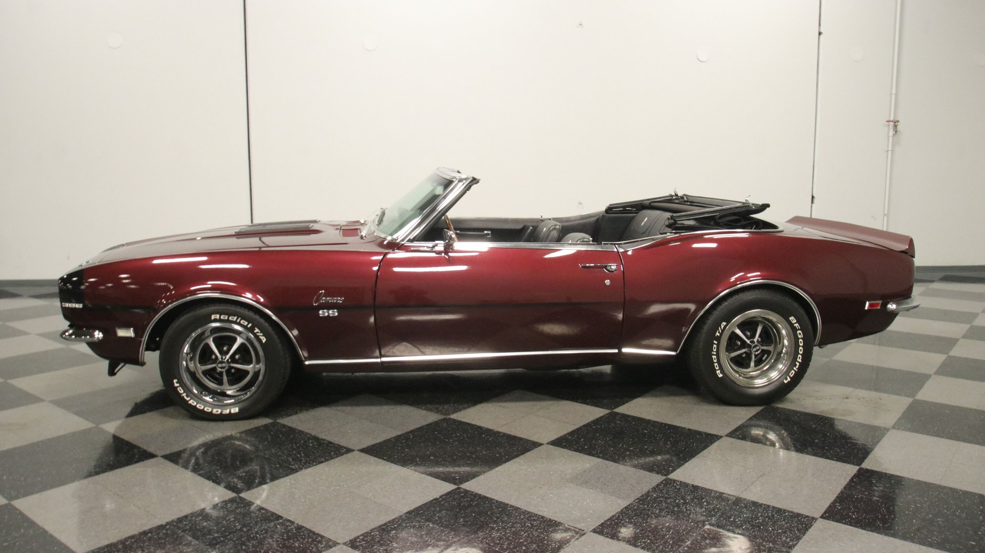 1968 chevrolet camaro rs ss convertible tribute