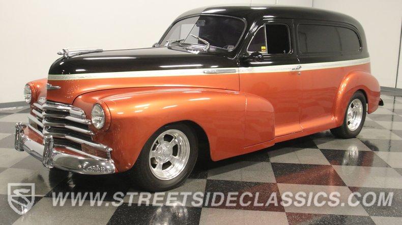 For Sale: 1947 Chevrolet Sedan Delivery