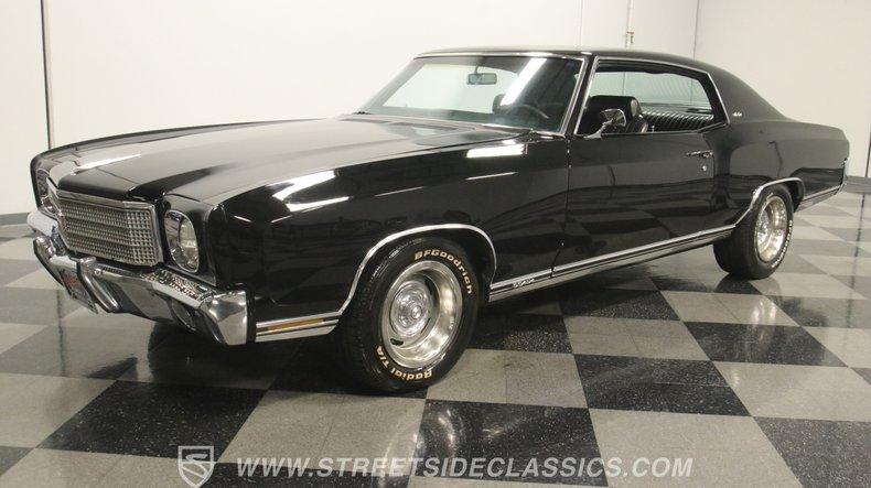 For Sale: 1970 Chevrolet Monte Carlo