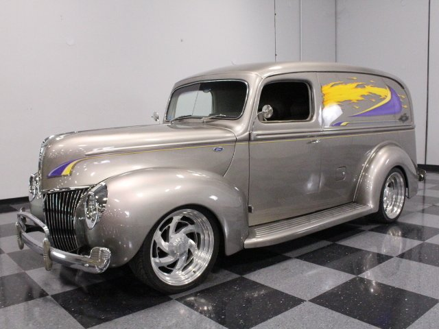 1940 ford panel delivery