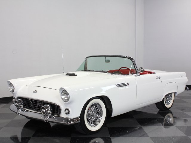 For Sale: 1955 Ford Thunderbird