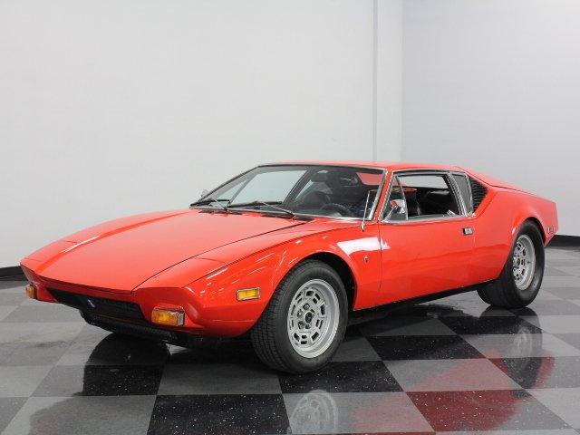 For Sale: 1974 De Tomaso Pantera