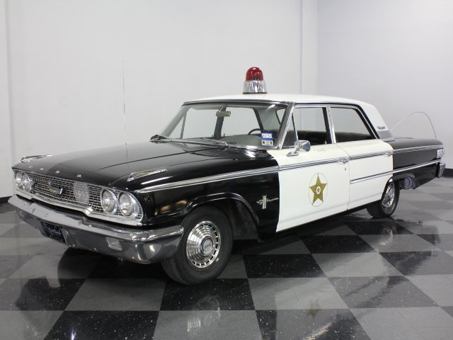 1963 ford galaxie 500 mayberry replica