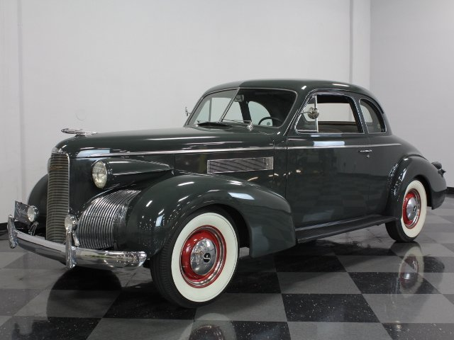 For Sale: 1939 LaSalle Coupe