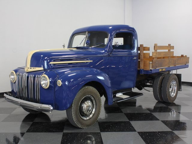 For Sale: 1942 Ford Stake Bed Truck