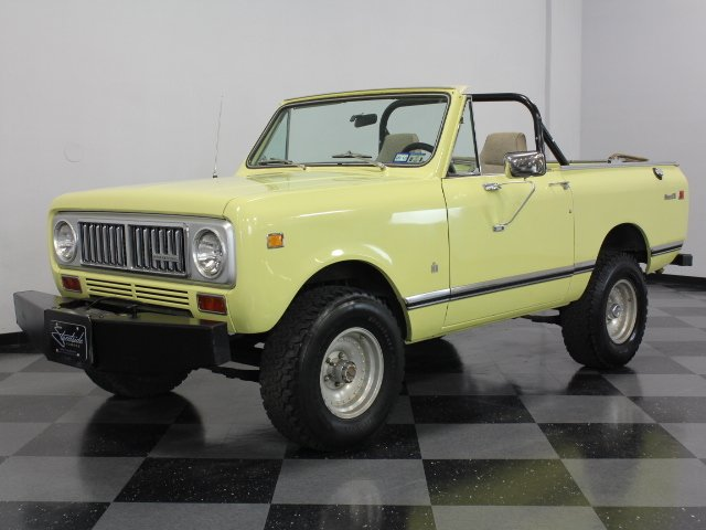 For Sale: 1974 International Scout