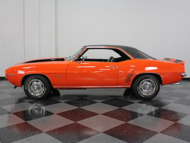 1969 chevrolet camaro z 28 rs