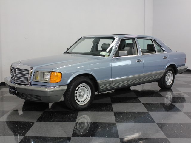 For Sale: 1985 Mercedes-Benz 500