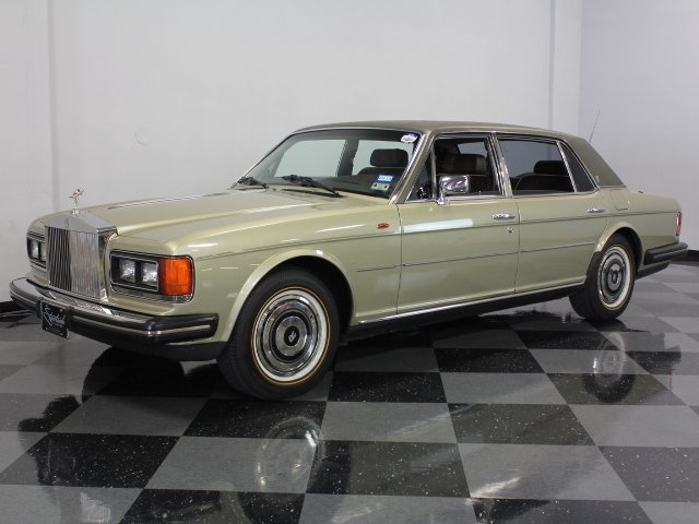For Sale: 1986 Rolls-Royce Silver Spur