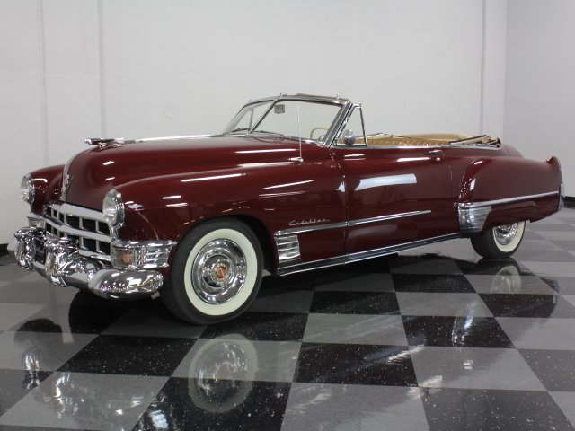 For Sale: 1949 Cadillac Series 62