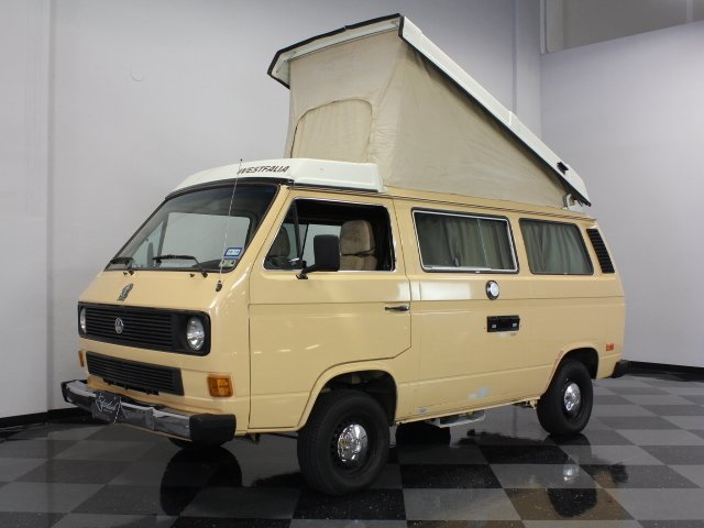 For Sale: 1985 Volkswagen Westfalia Camper