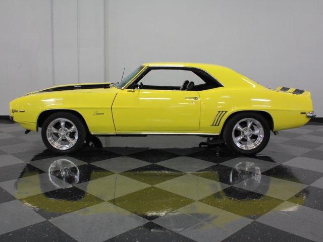 1969 chevrolet camaro z 28 tribute