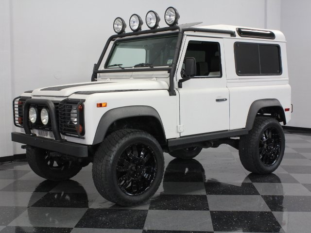 For Sale: 1997 Land Rover Defender